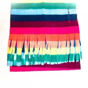 🌷Old Navy I Women Long Rainbow Fleece Scarf